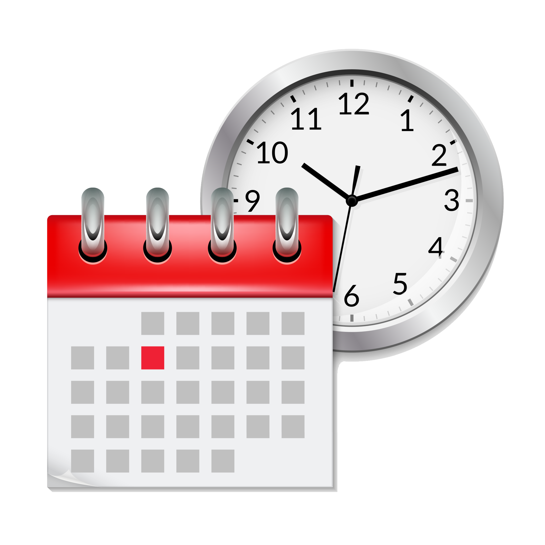 Clock and Calendar_clipart